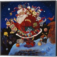 Here Comes Santa Claus Fine-Art Print