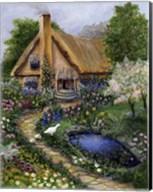 Best Old Cottage Fine-Art Print