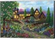 Chalet Gardening Fine-Art Print