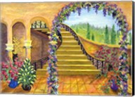 Terrace Garden Fine-Art Print