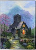Irish Church & Garden Fine-Art Print
