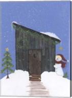 Barnwood Outhouse Fine-Art Print