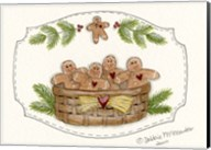 Basket Of Gingerbread Fine-Art Print