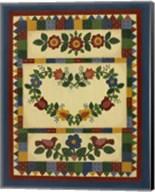 Flower Quilt 1 Fine-Art Print