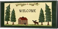 Welcome - Cabin Fine-Art Print