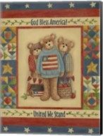 God Bless America - Bears Fine-Art Print