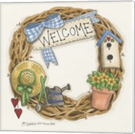 Welcome Wreath Fine-Art Print