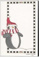 Boy Penguin In Red Fine-Art Print