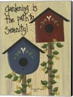 Gardening Is The Path Fine-Art Print