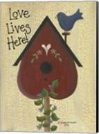 Love Lives Here! Fine-Art Print