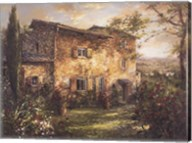 Tuscan Farmhouse Fine-Art Print