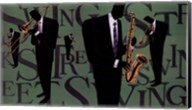 Swing Street Horns Fine-Art Print