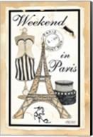 Weekend in Paris Fine-Art Print