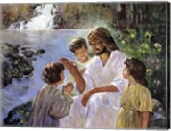Christ And The Children Fine-Art Print