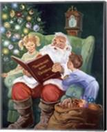 Twas The Night Before Christmas Fine-Art Print