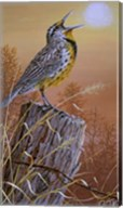 Meadowlark Painting Fine-Art Print