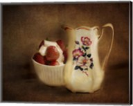 Strawberries And Cream Fine-Art Print
