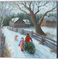 Christmas on the Farm Fine-Art Print