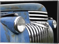 Chevy Grill Blue Fine-Art Print