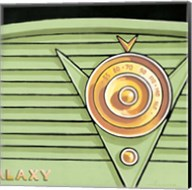 Galaxy Radio - Green Fine-Art Print