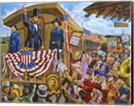 Lincoln to Washington Fine-Art Print