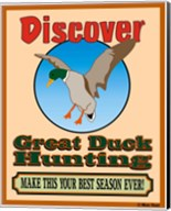 Discover Duck Hunting Fine-Art Print
