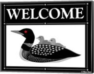 Welcome Loon Fine-Art Print
