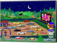 Moonrise Drive-In Fine-Art Print