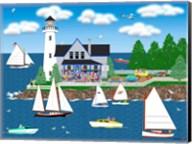 Summer Lighthouse Fine-Art Print