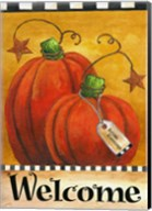 Pumpkin Autumn Welcome Fine-Art Print