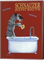 Schnauzer Bath Salts Fine-Art Print