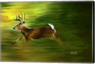 Running Deer Fine-Art Print