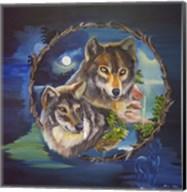 Magical Wolves Fine-Art Print