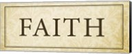 Faith Plaque Fine-Art Print