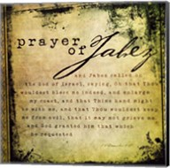 Prayer Of Jabez Fine-Art Print