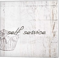 Self Service Fine-Art Print