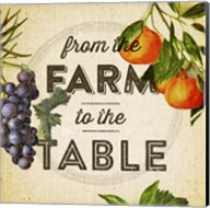 Farm To Table I Fine-Art Print