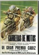 Carreras de Motos Fine-Art Print