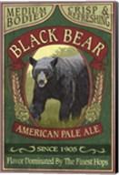 Black Bear Pale Ale Fine-Art Print