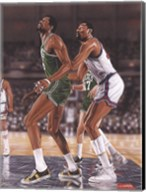 Wilt Chamberlin and Bill Russell Fine-Art Print