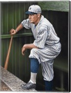Babe RuthTop Step Fine-Art Print