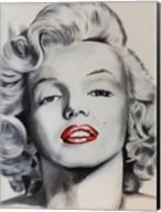 Pin up Marilyn Fine-Art Print