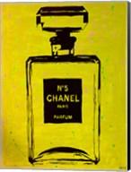Chanel Pop Art Yellow Chic Fine-Art Print