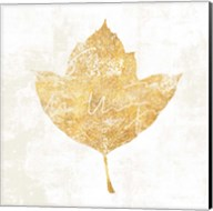 Bronzed Leaf I Fine-Art Print
