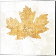 Bronzed Leaf IV Fine-Art Print
