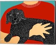 Dogs Can Heal a Broken Heart Fine-Art Print