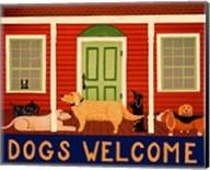 Dogs Welcome HSH II Fine-Art Print
