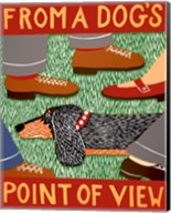 From a Dog's Point of View Black and Tan Fine-Art Print