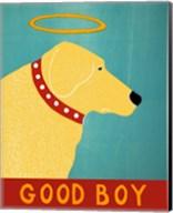 Good Boy Yellow Fine-Art Print