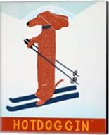 Hotdoggin Red Fine-Art Print